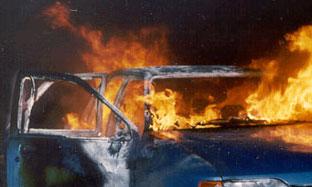 В армейский ЗИЛ-131 врезался VW Golf