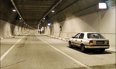 Перед Лефортовским тоннелем установили интерактивный радар