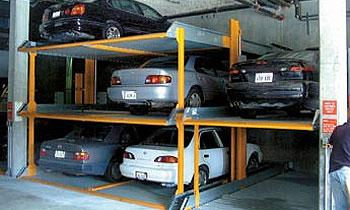 В Савеловском районе Москвы создан механизированный паркинг