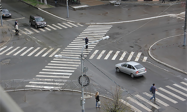 В центре Москвы появятся диагональные пешеходные переходы