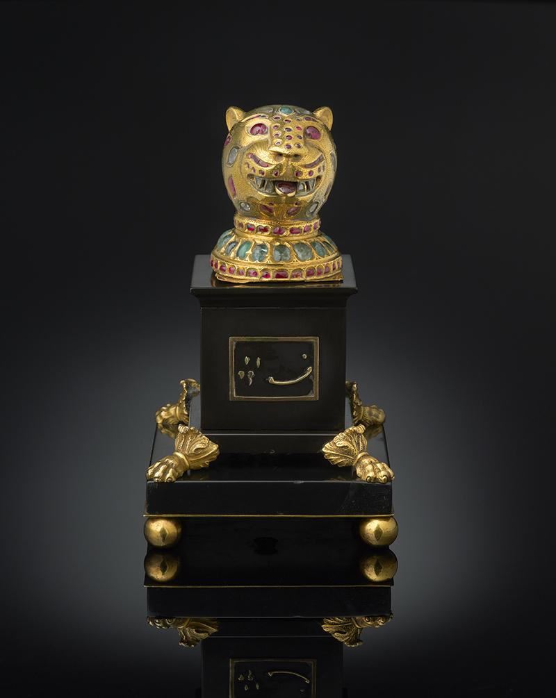 Декоративный элемент трона султана Типу, Майсор, Индия, 1787-1793