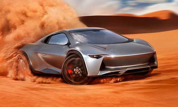 Итальянцы хотят превратить старый Bugatti во внедорожник