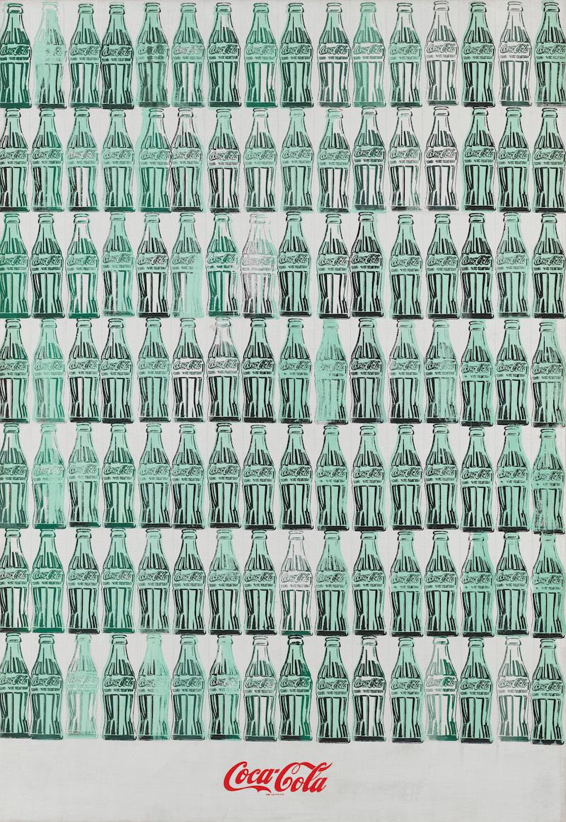 Энди Уорхол. Green Coca Cola Bottles, 1962