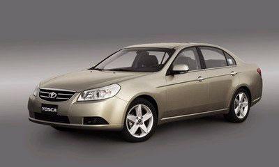 Представительский седан GM-Daewoo Tosca