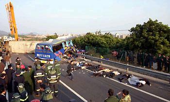 В крупном ДТП в Марокко погибли 25 человек