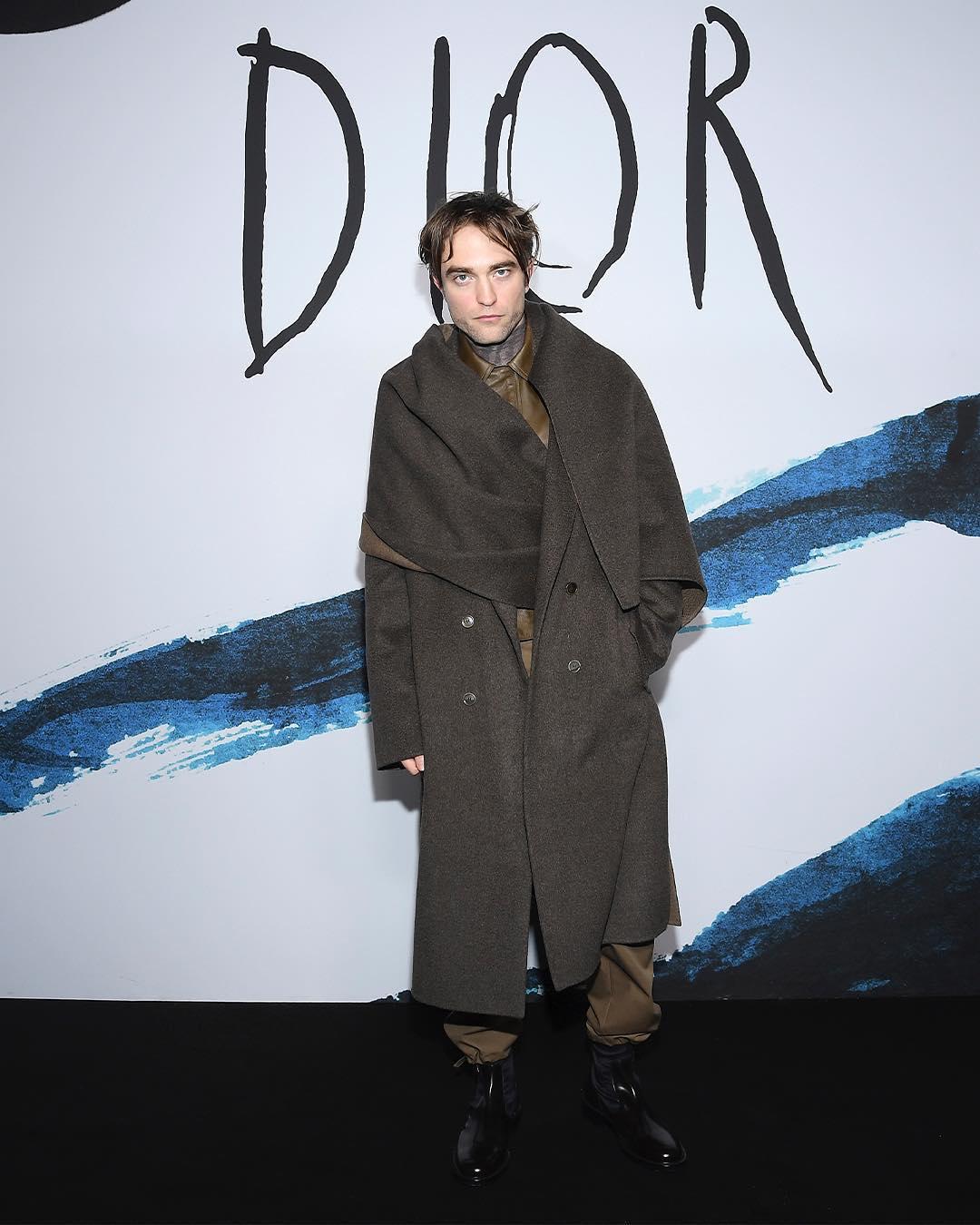 На показе коллекции Dior Men сезона осень-зима 2019/20