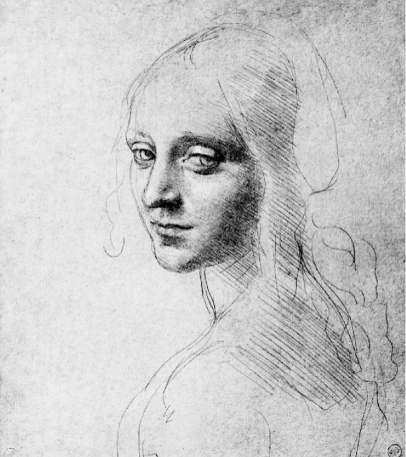 Леонардо да Винчи, эскиз