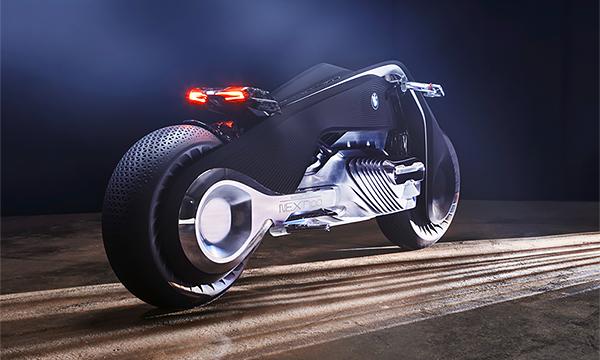 BMW представила мотоцикл будущего