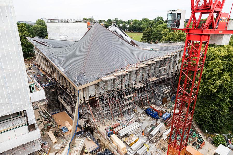 Реконструкция здания Музея Дизайна