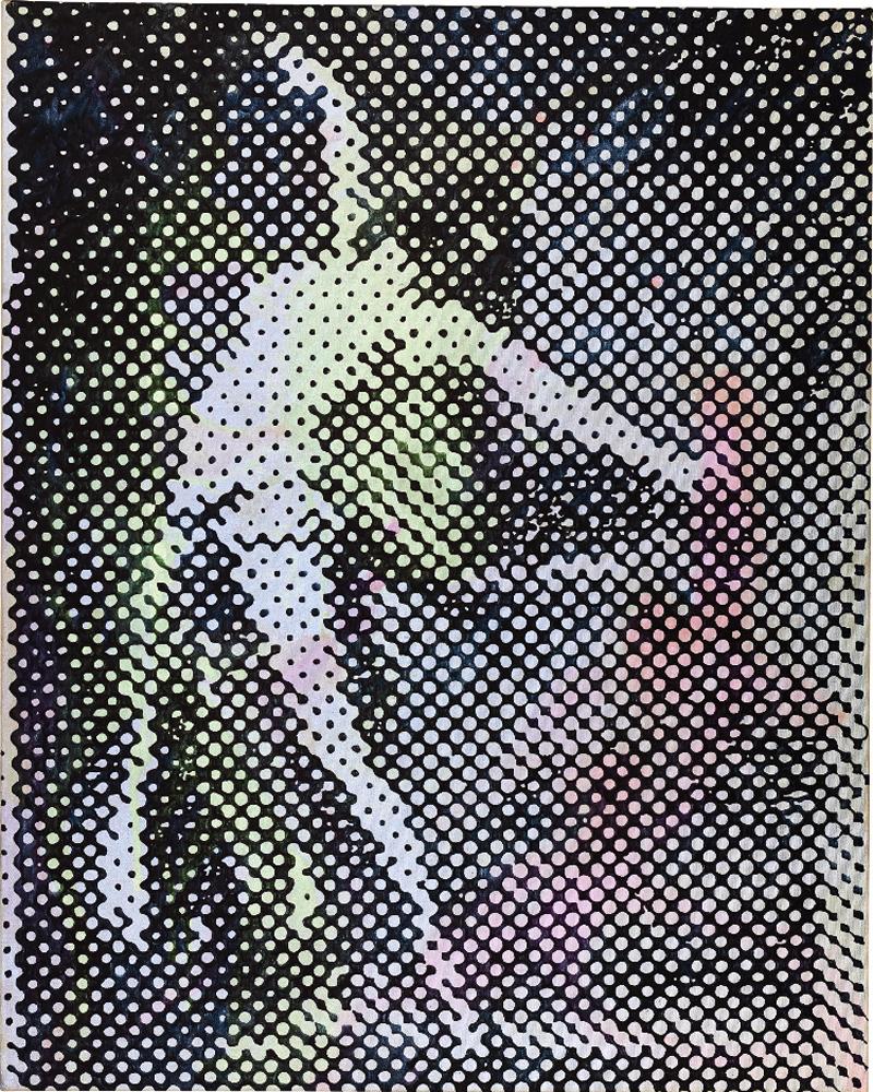 «Tänzerin», Sigmar Polke, 1994
