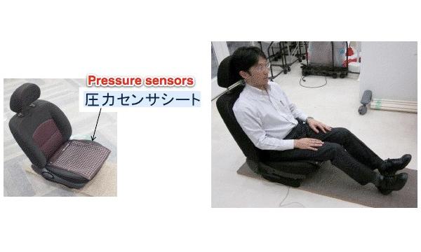 В Японии разработали противоугонное автомобильное кресло
