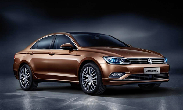Volkswagen Lamando дебютировал в Китае
