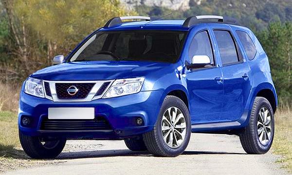 Nissan Terrano и еще один китаец