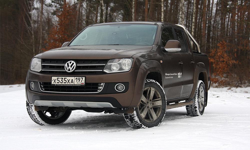 Пикап №2. Тест-драйв VW Amarok с «автоматом»