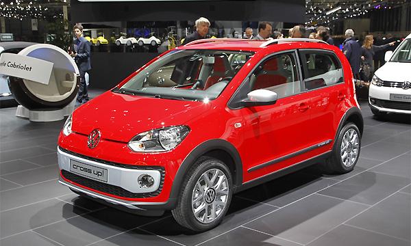 Volkswagen Cross up: самый маленький кроссовер