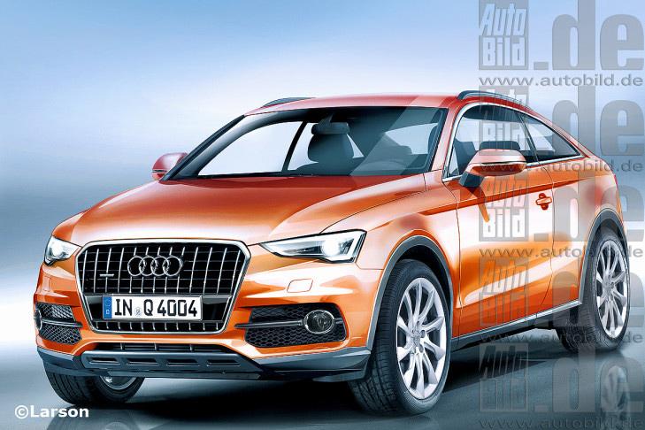 Audi готовит конкурента BMW Х6