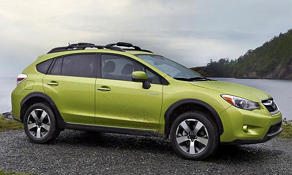 Subaru XV Crosstrek Hybrid выйдет на рынок до конца 2013 года