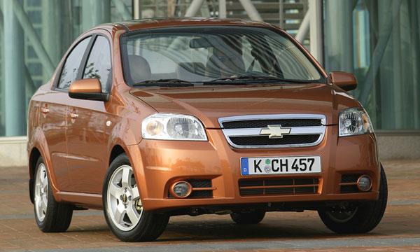 Новый седан Chevrolet Aveo