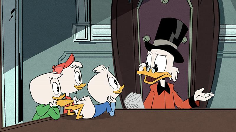 Кадр из мультфильма«Утиные истории»