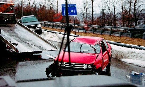 В США столкнулись 20 машин, 6 человек погибли