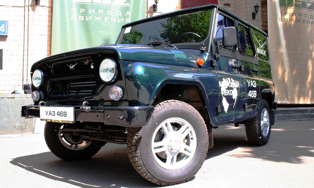 УАЗ-469 признали самым вместительным автомобилем в мире