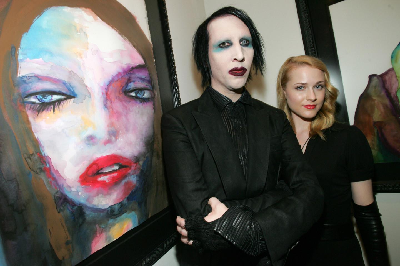 Мэрилин Мэнсон и Эван Рейчел Вуд, 2006 (?)