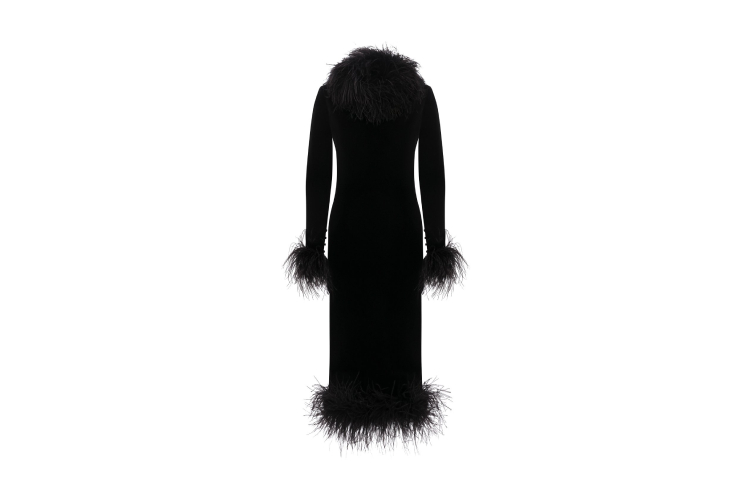 Платье Saint Laurent (353 000 руб.)