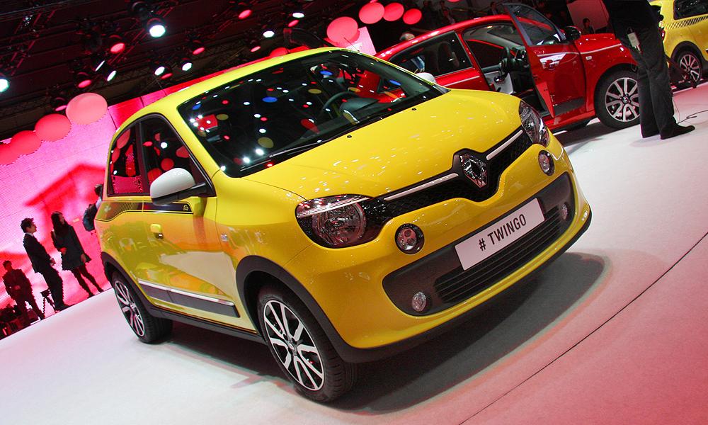 Twingo: компакт Renault на заднем приводе