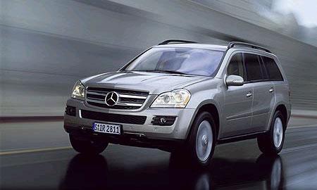 Mercedes-Benz GL. Официальные ФОТО