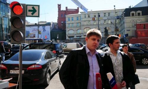 В России хотят отменить красный сигнал светофора