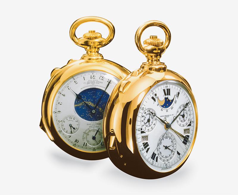 Карманные часы Генри Грейвза-младшего, 1932