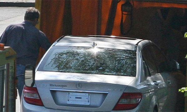 Появились шпионские фото Mercedes-Benz C63 AMG 2009