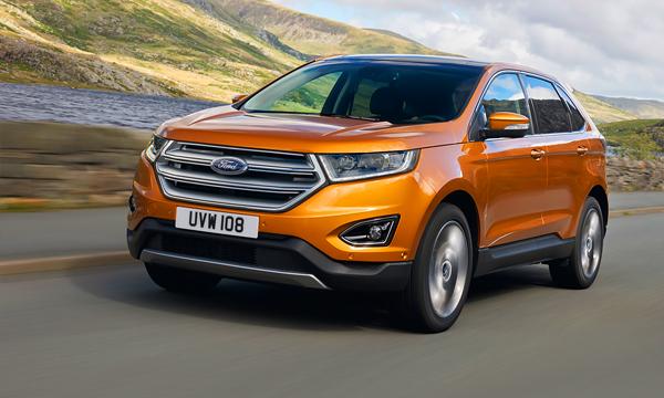 Ford рассекретил кроссовер Edge для Европы