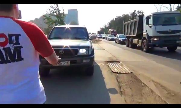 В Госдуме предложили увеличить штраф за езду по тротуару