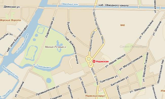 В Петербурге станцию метро Нарвская закроют более чем на год