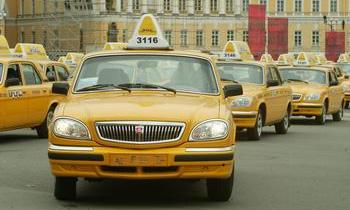 Московские такси могут обзавестись желтыми номерами
