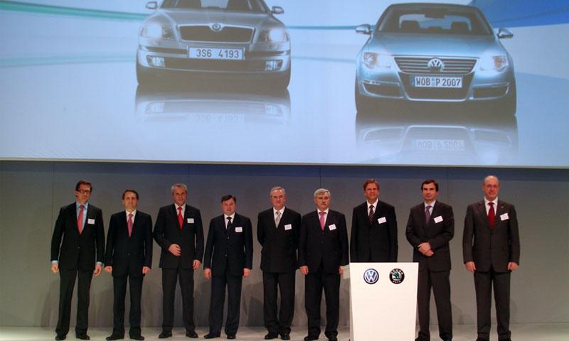 Немецкие представители VW страшно довольны проделанной работой