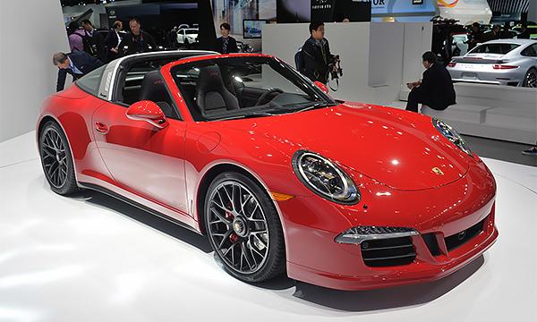 Porsche 911 Targa получил 430-сильный мотор