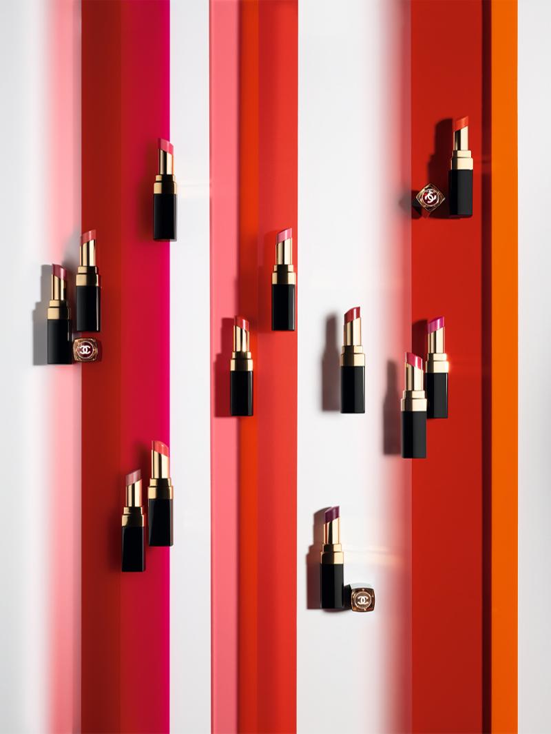 Новые оттенки помады в коллекции Rouge Coco Flash, Chanel