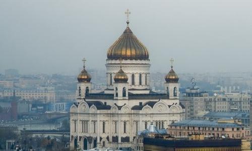 Центр Москвы перекрыт из-за проведения Поместного собора