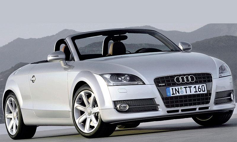 Audi представляет родстер ТТ 2007-2008 модельного года