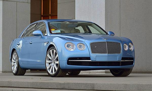 Bentley назвал рублевые цены нового Flying Spur