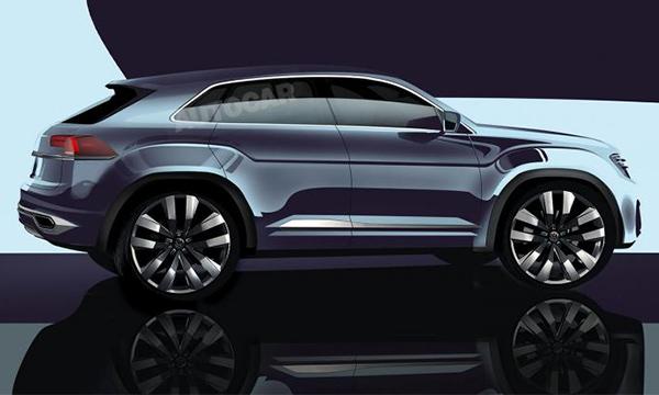 Новый Tiguan Coupe получит 300-сильный мотор