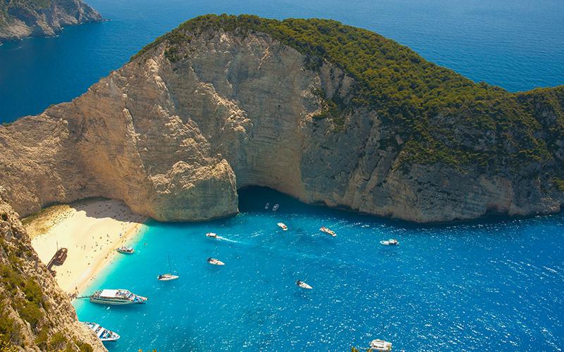 Закинтос, Греция