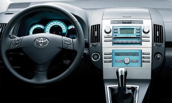 Технические характеристики Toyota Corolla Verso