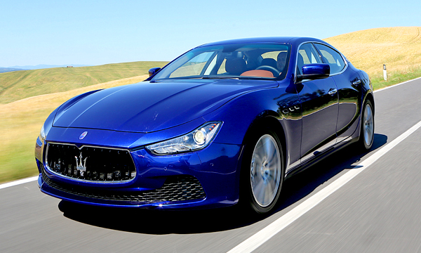 Maserati объявил цены на новый седан Ghibli