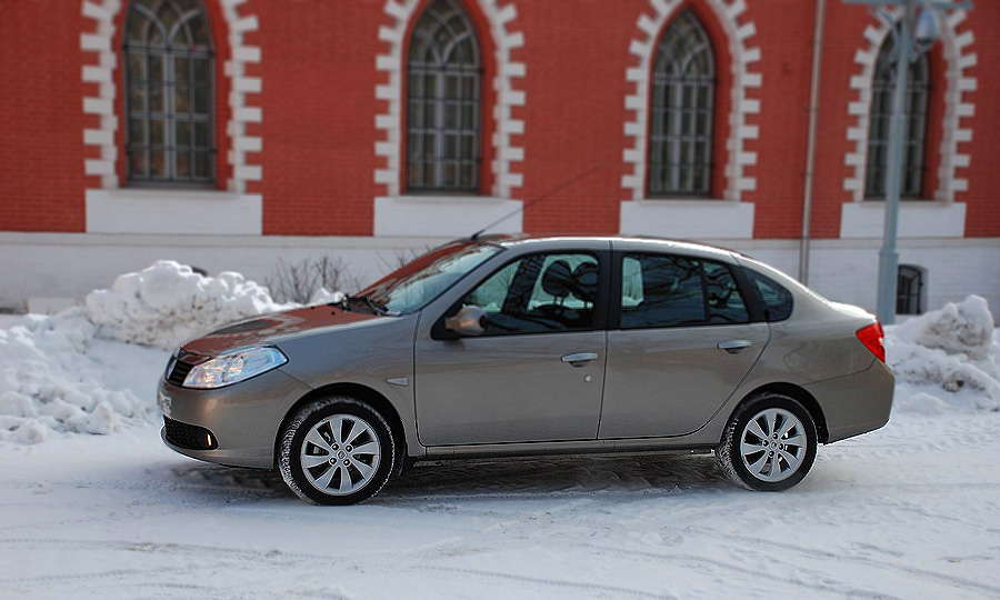 Renault Symbol – для тех, кому нужен в меру доступный седан