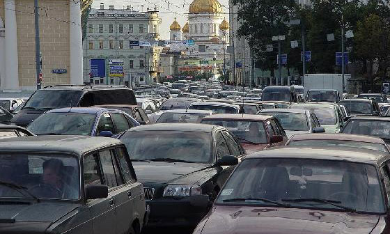 Когда в Москве исчезнут пробки