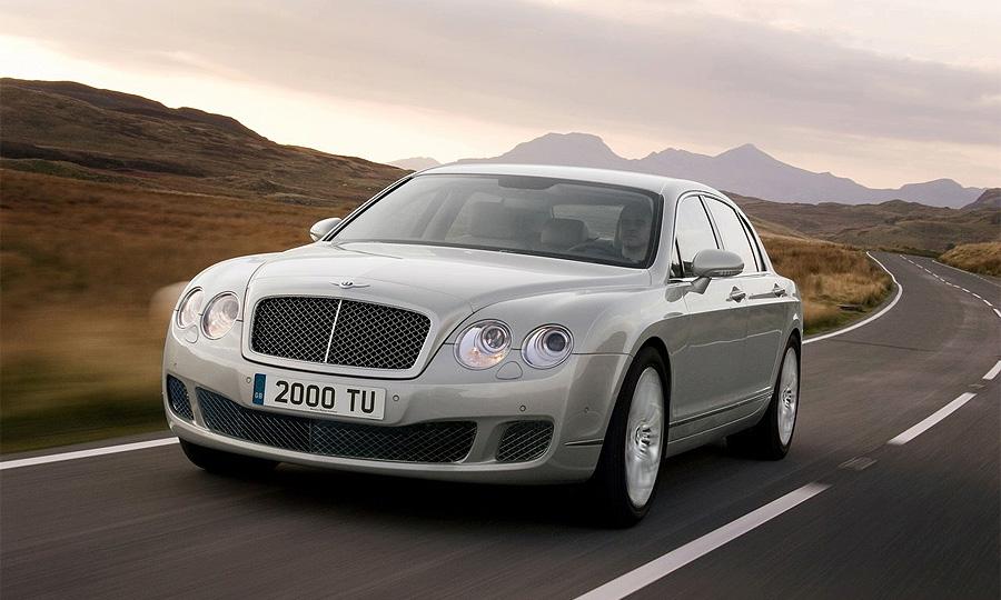 Bentley Continental Flying Spur прошел рестайлинг