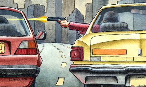 Доносы, самосуд и другие способы борьбы с хамством на дорогах